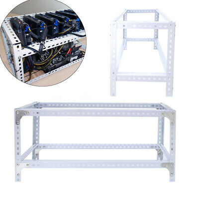 7 GPU DIY Steel Crypto Coin Open Air Mining Rig Frame Case For Ethereum ETH