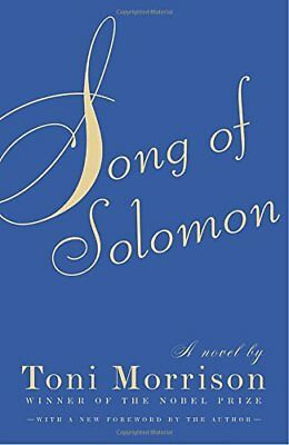 NEW - Song of Solomon by Morrison, Toni
