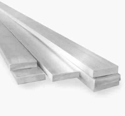 US Stock 2pcs 3mm x 20mm x 330mm(13 inch) 304 Stainless Steel Flat Bar Sheet