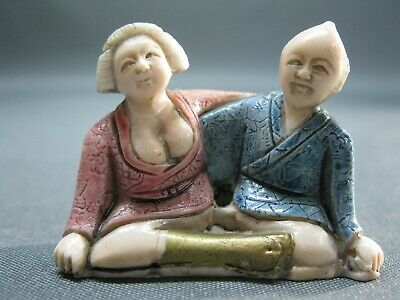 Erotik Netsuke   Erotika Japan China asiatisch  5 cm