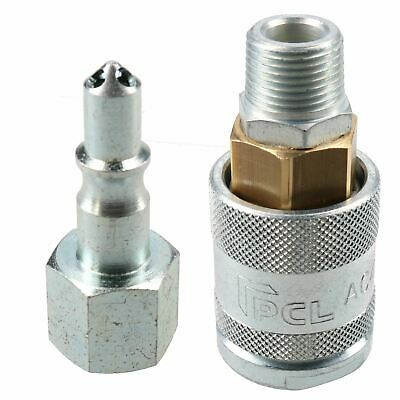 "PCL 60 Series Female Coupler 3/8"" BSP Male Thread & Adaptor Male Air Fittings"