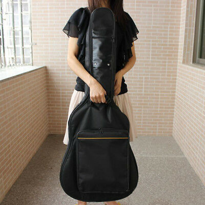 New Padded Protective Classical Acoustic Guitar Back Bag Soft Carry Case Black