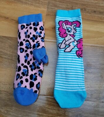 GEORGE GIRLS 2 Pairs Kids Cotton Rich Socks BRAND NEW SIZE 9-12