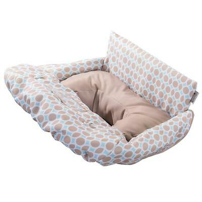 Summer Infant 2-in-1 Cushy Cart Cover and Seat Positioner, Dots Diamonds