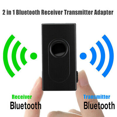 AU 2In1 Bluetooth Wireless Audio Transmitter + Receiver 3.5mm HIFI Music Adapter