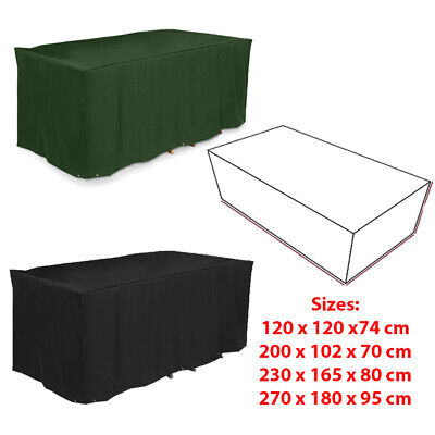 Garden Patio Furniture Cover for Rattan Table Cube Seat Outdoor