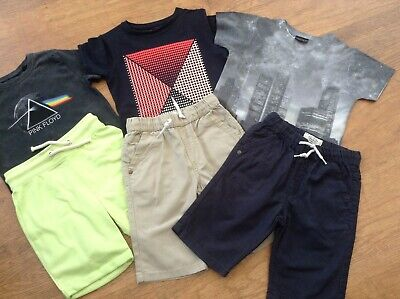 100% Next Boys Small Spring / Summer Bundle / Outfit 4-5Yrs Tops Shorts