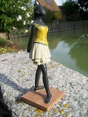 Re0088     Figurine Statuette Reproduction  Danseuse  De  Degas Danse Classique