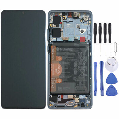 Huawei Display LCD Rahmen für P30 Service 02352NLP Breathing Crystal Batterie