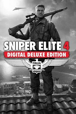 Sniper Elite 4 Deluxe Edition Pc Not Key Steam