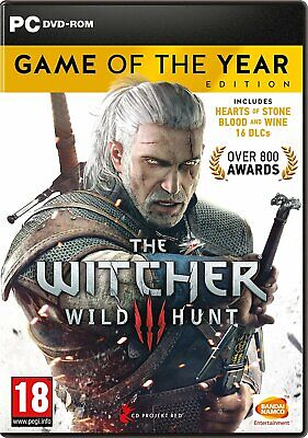 The Witcher 3 Wild Hunt - Game of the Year Edition Pc Not Key Steam