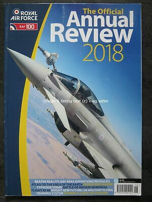 Royal Air Force The Official Annual Review 2018 130 pages Typhoon Atlas Shader