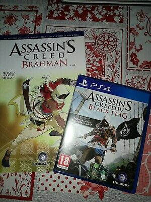 Sony PS4 UBISOFT - Assassin's Creed 4 BLACK FLAG + FUMETTO CON CONTENUTI EXTRA
