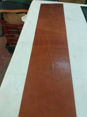 Tan Leather HIDE panel 2.9mm thick REENACTMENTS CRAFTS  lot 98