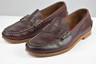 2558b2eb13 Rancourt Men s Beefroll Penny Loafers Shoes Size 12 D Mint Made In USA  295