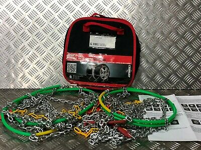 2X Car Snow Chains Fit for 12mm KN120 215/65-16 225/60-16 235/60-16 225/55-17
