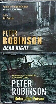 Dead Right & Before the Poison by Peter Robinson (CD-Audio, 2006)