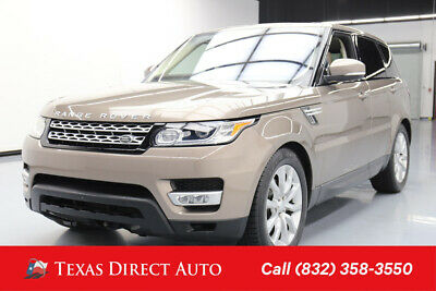 2016 Land Rover Range Rover Sport V6 HSE Texas Direct Auto 2016 V6 HSE Used 3L V6 24V Automatic 4WD SUV Premium