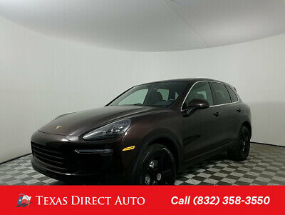 2016 Porsche Cayenne S Texas Direct Auto 2016 S Used Turbo 3.6L V6 24V Automatic AWD SUV Premium Bose