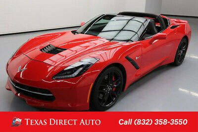 2014 Chevrolet Corvette Z51 3LT Texas Direct Auto 2014 Z51 3LT Used 6.2L V8 16V Manual RWD Coupe Bose OnStar