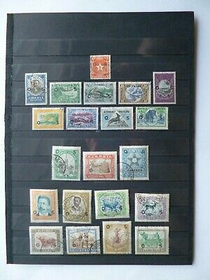 LIBERIA :-  Good selection of Mint & Used Official stamps.No.2.