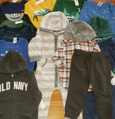Old Navy Carter's Boys 18-24 MONTH Fall Winter 12 PIECES Clothing Lot #16-334-19