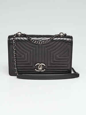 ae6f39eb3b5984 CHANEL PURPLE QUILTED Velvet Small Boy Bag - $2,410.00 | PicClick