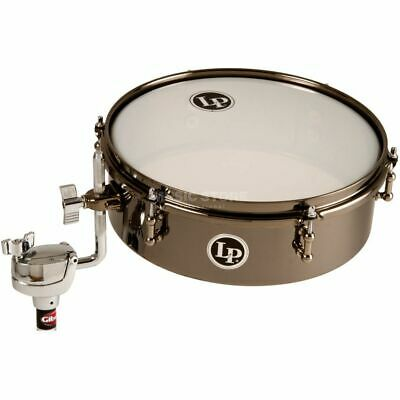 "Latin Percussion - DrumSet Timbale LP812-BN, 12""x4"", Black Nickel"
