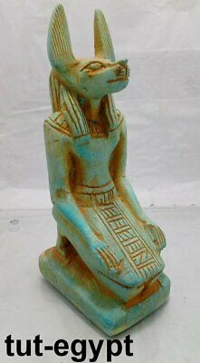 RARE ANTIQUE ANCIENT EGYPTIAN Statue jackal afterlife God Anubis 3100-2890 BC