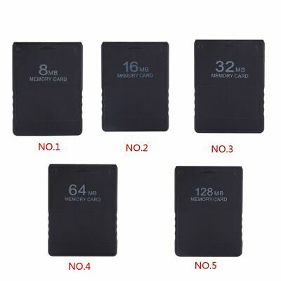8-128MB Flash Memory Card Save Game Data Stick Module for PS2 Playstation 2
