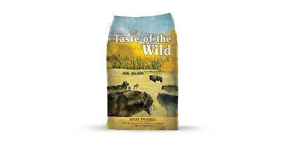 Taste of the Wild High Prairie Canine Formula Roasted Bison&Roasted Venis, 28lbs