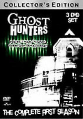 Ghost Hunters: The Complete First Season Collector's 3-Disc Set DVD VIDEO MOVIE