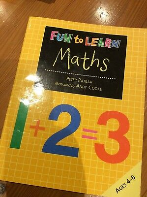 Fun to Learn Maths: Ages 4 -6 Peter Patilla, Illustrated by Andy Cooke