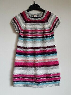 BNWT Gymboree Knitted Shirt Sleeved Dress Age 4 Years <S4531