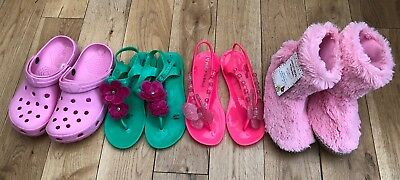 Girls Bundle Of Shoes Size 4-5 Peter Storm <D3301
