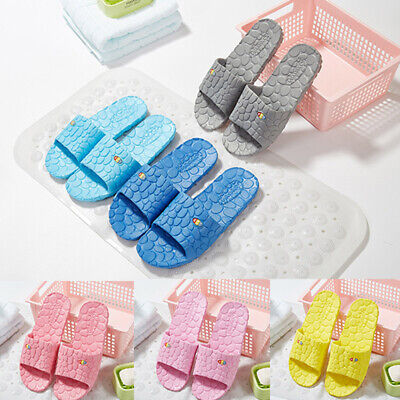 Mens Women Soft Shoes Lady Beach Shower Sandals Home Bath Slippers Indoor Casual