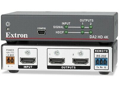 Extron DA2 HD 4K - Two Output 4K HDMI DA - 60-1480-01