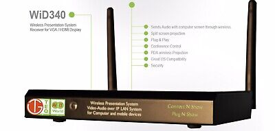 WiD340-ENT the Wireless Presentation System