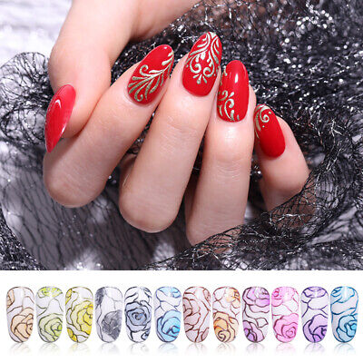 LILYCUTE 5ml Gel Polish Mirror Painting Soak Off Metallic Nail Art Gel Varnish