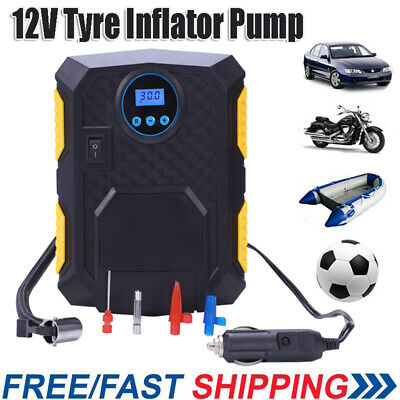 12v Car 100PSI Air Compressor Tyre Portable Electric Digital Inflator Pump Y