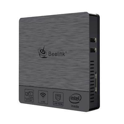 Beelink BT3Pro Mini PC Windows 10 Computer Desktop, 4GB RAM+64GB HDMI+VGA Output