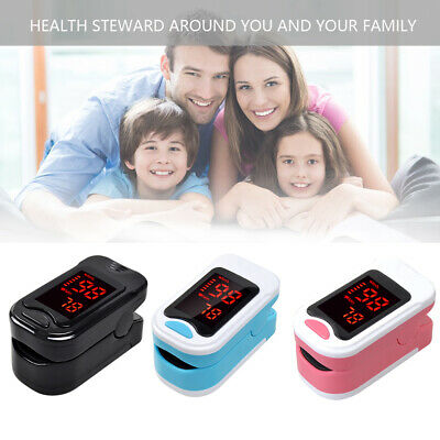 Finger Tip Pulse Oximeter SPO2 Oximetry Blood Oxygen Monitor PR Heart Rate LOVE