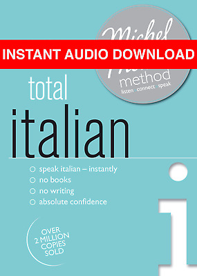 Total Italian Michel Thomas Method (AUDIO BOOK)