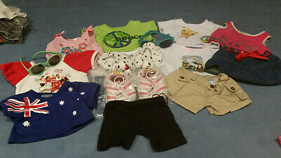 Build a Bear Plush Clothes Lot Shorts Pants Outfits Sneakers Skechers