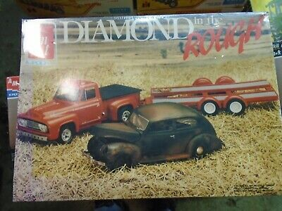 old new model trucks and cars