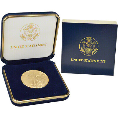 2018 American Gold Eagle (1 oz) $50 - BU coin in U.S. Mint Gift Box