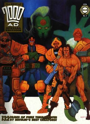 2000AD ft JUDGE DREDD - THE BEST of 2000AD SPECIAL EDITION No 2 - 1994 - VGC