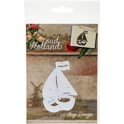 Oud Hollands Klompboot Amy Design Stanzschablone