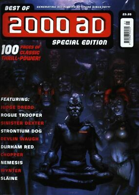 2000AD ft JUDGE DREDD - THE BEST of 2000AD SPECIAL EDITION No 4 - 2000 - VGC