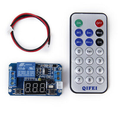1Pack Multifunctional Programmable Timer Relay Control Module&Remote Control